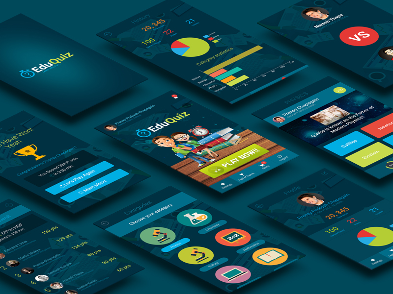 Quiz APP UI Design